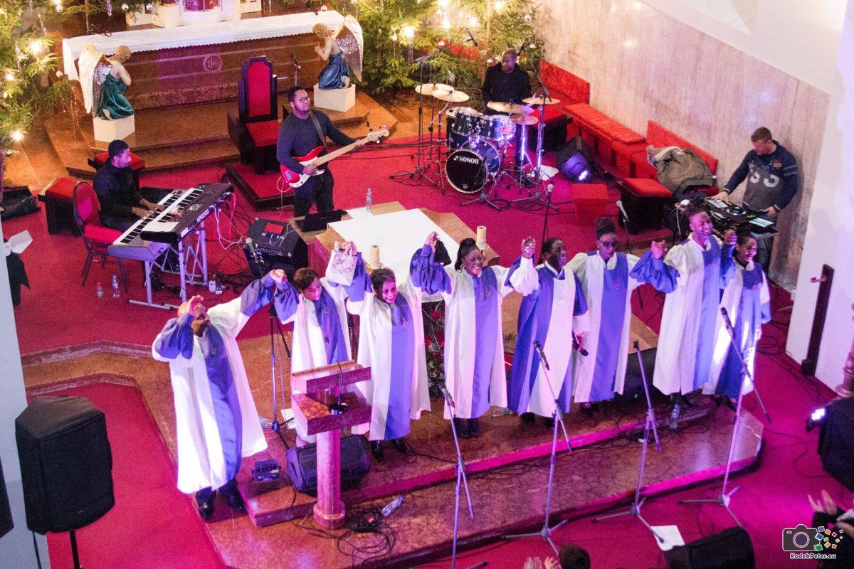 Érsekújvárban énekelt a világhírű gospel együttes