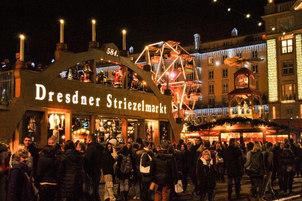 """DREZDA – karácsonyi fények az """"Elba Firenzéjéből"""""""